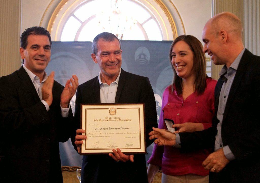 Antonio Banderas es Huésped de Honor