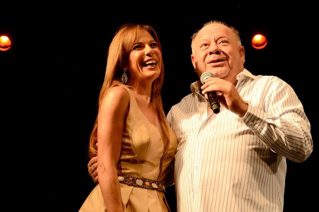 Iliana Calabró y Cacho Buenaventura