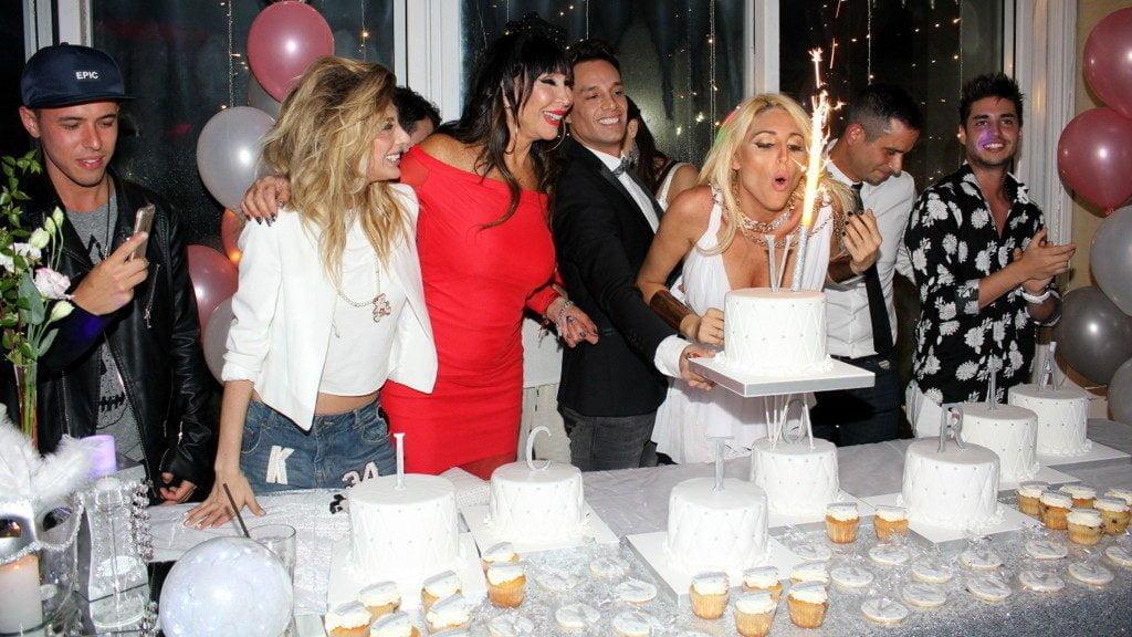 La desmesurada fiesta de cumpleaños de Vicky Xipolitakis