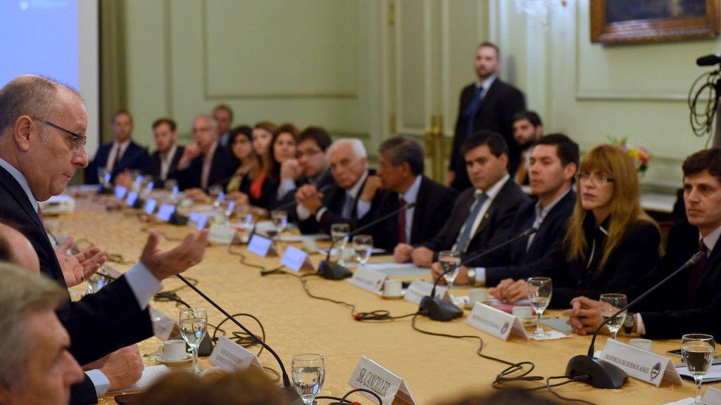 """Faurie presidió una reunión con representantes de los gobiernos provinciales en la jornada """"Cancillería argentina: una Agenda Federal"""""""