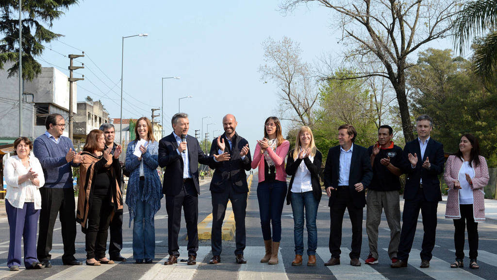"""Macri: """"Se trata de que todos creamos que nada es imposible"""""""