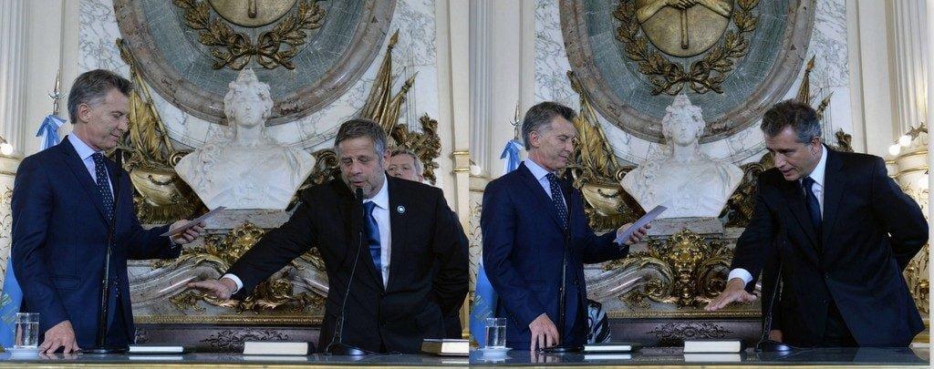 Macri tomó juramento a los nuevos ministros de Salud y de Agroindustria