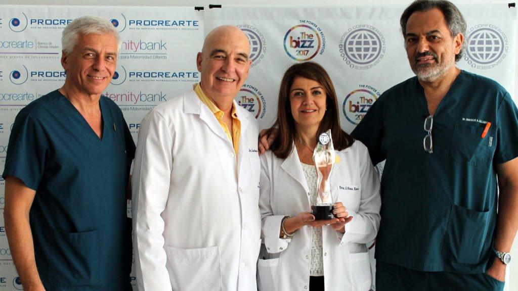 Reconocimiento internacional a la excelencia empresarial para centro de fertilidad argentino