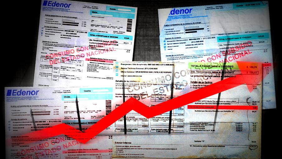 A partir de mañana suben las tarifas de colectivo, tren, prepagas y luz que fueron anunciados en diciembre por el Gobierno