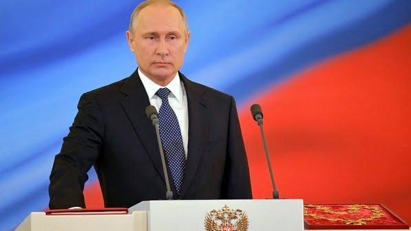 Putin jura su cuarto mandato como presidente de Rusia
