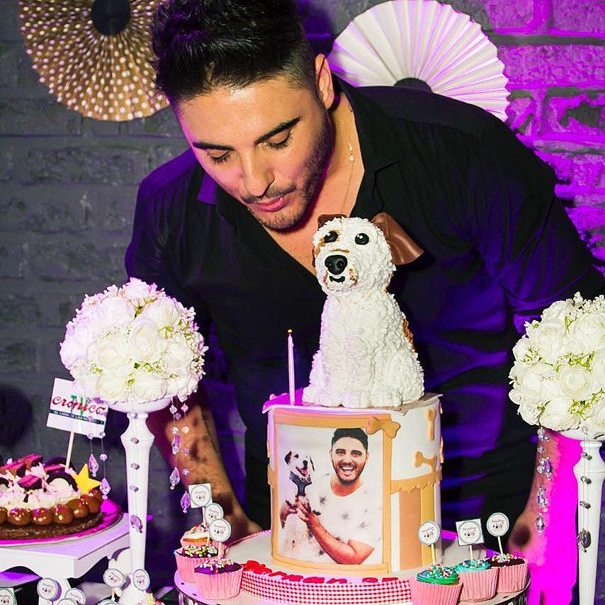 Hernán Lirio festejó su cumpleaños en el boliche Brickell de Palermo