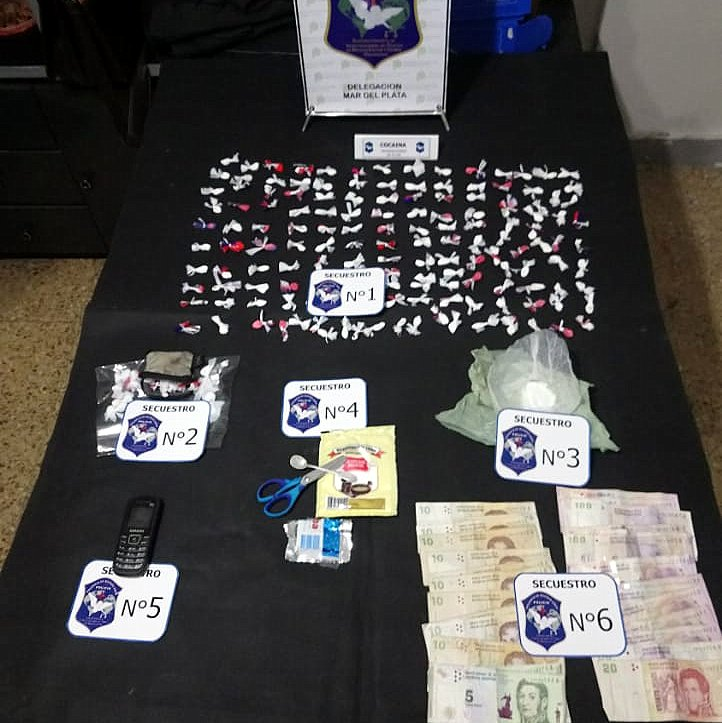 Hombre de 70 años con prisión domiciliaria vendía cocaína