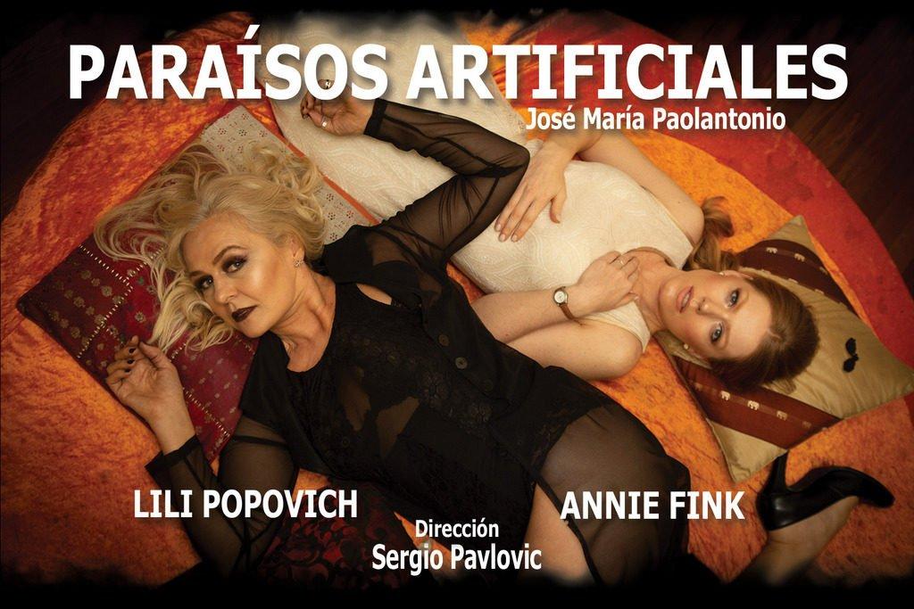 """""""Paraísos Artificiales""""  Una obra íntima y poderosa en el Teatro El Ojo"""