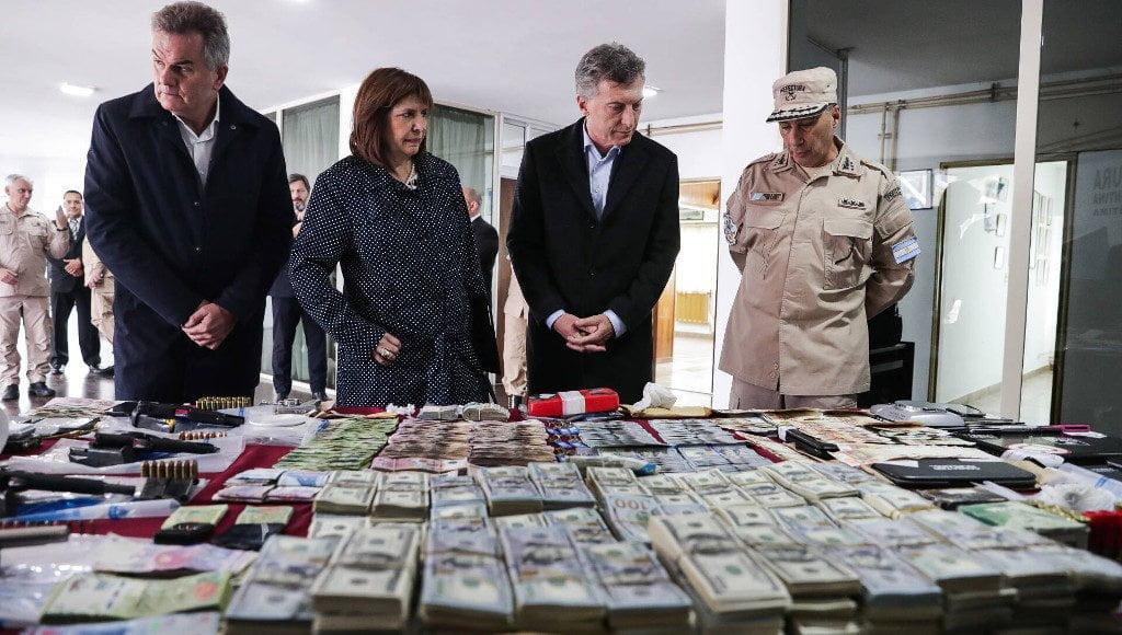 """Macri: """"Es un orgullo cómo estamos avanzando en la lucha contra el narcotráfico"""""""